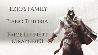 ezio s family tutorial on piano assassin s creed 2 jesper kyd