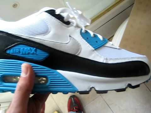 Nike AIR MAX 90 LASER BLUE 2010 RETRO REVIEW  YouTube