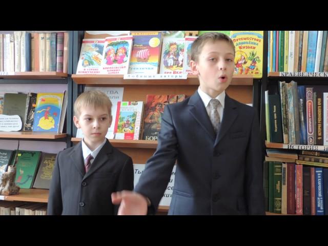 Изображение предпросмотра прочтения – «команда любителей чтения» читает произведение «Бородино» М.Ю.Лермонтова