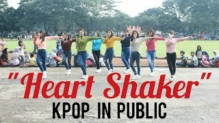 "Kpop In Public  Twice  트와이스  ""heart Shaker"" Dance Cover By Crescentia From Indo"