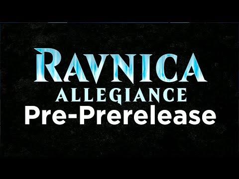 Ravnica Allegiance Pre PreRelease