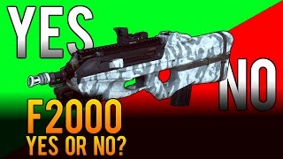 Yes or No - F2000 Assault Rifle Review - Battlefield 4 (BF4)