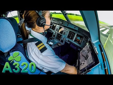 Emily Pilots An AER LINGUS A320 Out Of Dublin