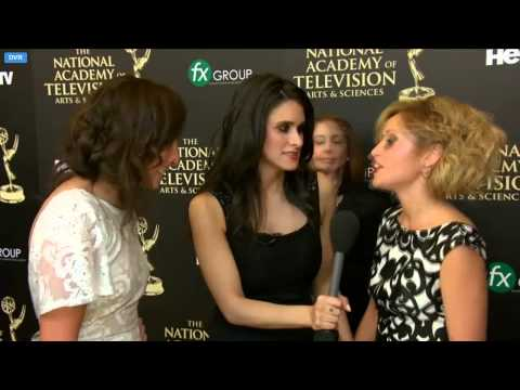 Emme Rylan Red Carpet Interview Daytime Emmys 2014