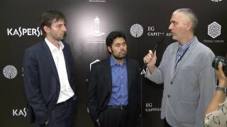 Day 6 Interview with Hikaru Nakamura and Alexander Grischuk