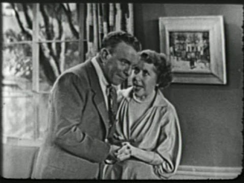 George Burns & Gracie Allen Show S2E18 Gracie wants to redecorate (May 8, 1952)
