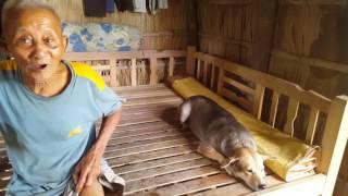 Hoàn cảnh khó khăn và neo đơn của bác Trần Ngọc Lễ ở Long Phú