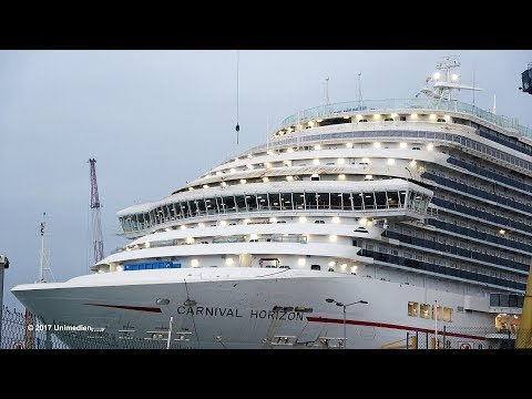 CARNIVAL HORIZON | special views under construction at shipyard FINCANTIERI 12/17 | 4K-Quality-Video