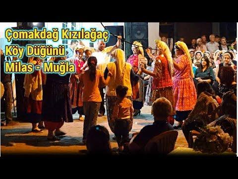 Çomakdağ Kızılağaç   Köy Düğünü │Milas - Muğla