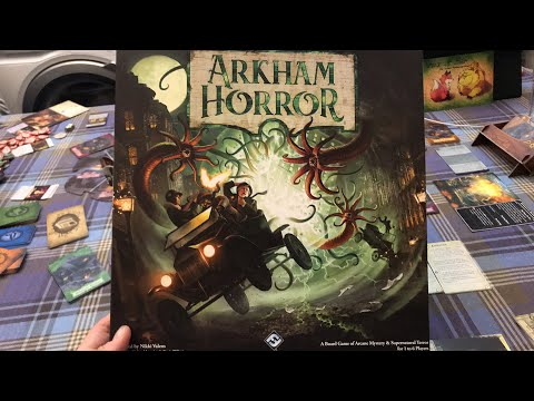 Arkham Horror 3rd Edition - Live Lets Play