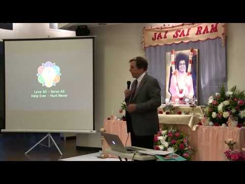 Sathya Sai Retreat 2017, St.Louis (USA) - Talk by Gene Massey