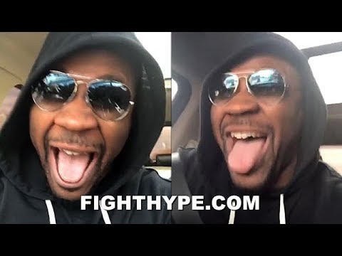 JARRELL MILLER REACTS TO GETTING ANTHONY JOSHUA SHOT; BUSTS OUT IN EXCITEMENT Mp3