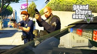 GTA 5 PC Mods - PLAY AS A COP MOD! GTA 5 SAPDFR/LSPDFR Police Mod Gameplay! (GTA 5 Mods Gameplay)