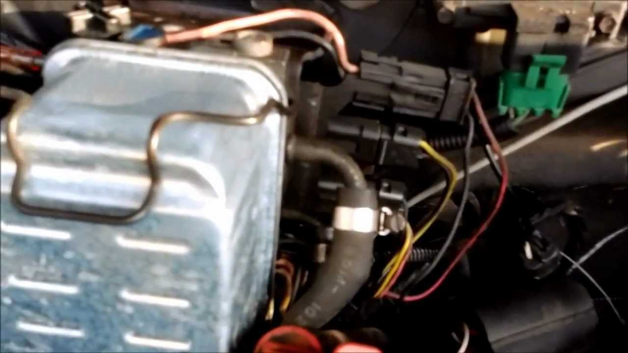 6 2L Diesel Rough Idle Part 5 - Clear Fuel Lines