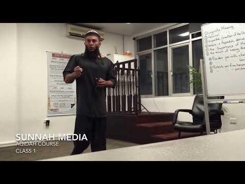 Sheikh Feiz - Aqidah Course - Class 1