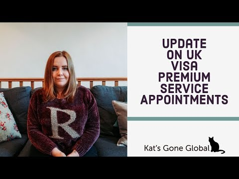 Update On UK Visa Premium Service Appointments