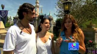 Patricia Manterola en exclusiva para Despierta America presenta a sus hijos en TV
