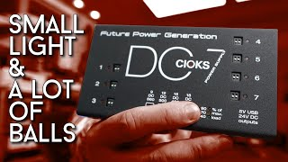 Forget all other power supplies! Just get a Cioks DC7 !