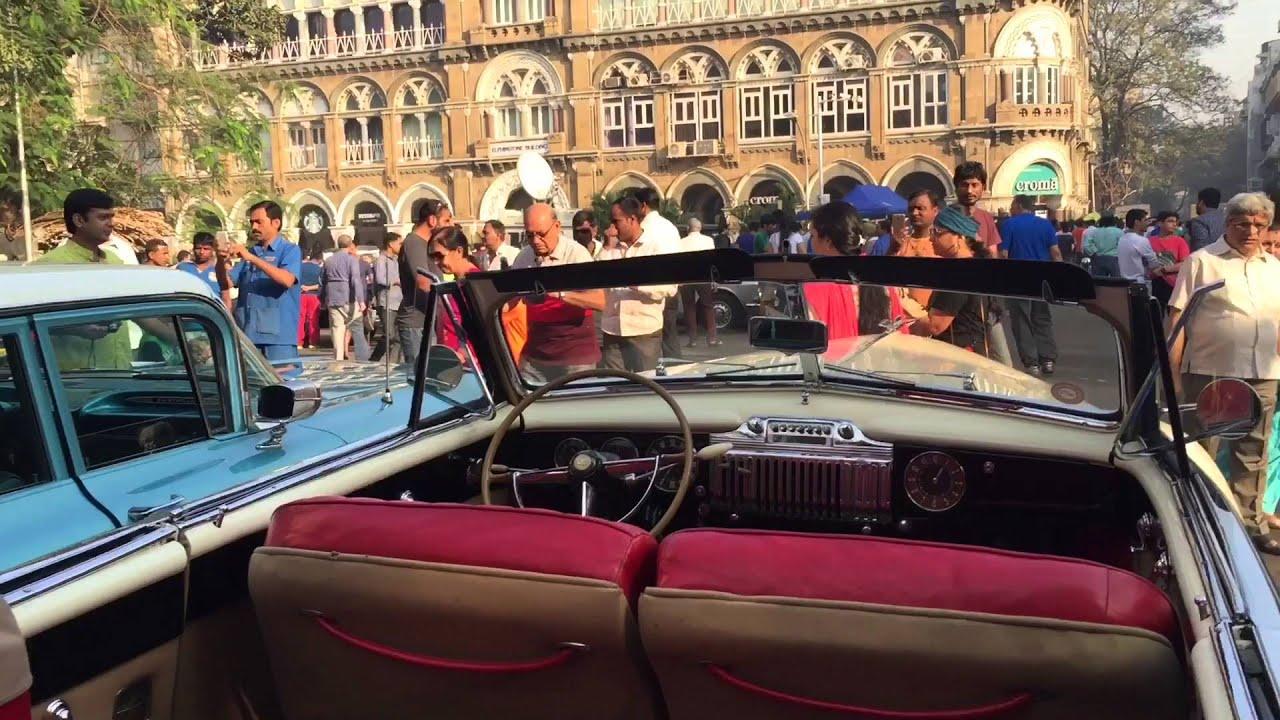 Vintage Car Rally Mumbai Youtube