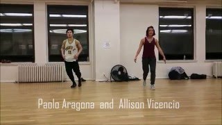 Allison Vicencio & Paolo Aragona Choreography | Body Language - Social Studies (Plastic Plates rmx)