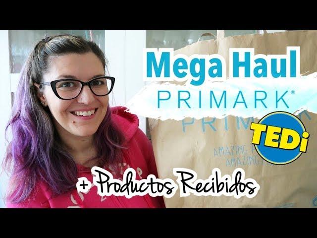 HAUL PRIMARK NOVIEMBRE 2018 + COMPRAS TEDI | PRODUCTOS RECIBIDOS Material Escolar Black Friday
