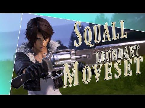 Squall Leonhart Moveset + Detail - Dissidia Final Fantasy NT (DFFAC/DFFNT)