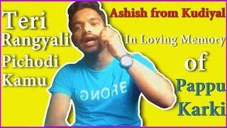 Teri Rangyali Pichodi Kamu by Ashish from Kudiyal Thano   Pappu Karki Song   Hito Pahad