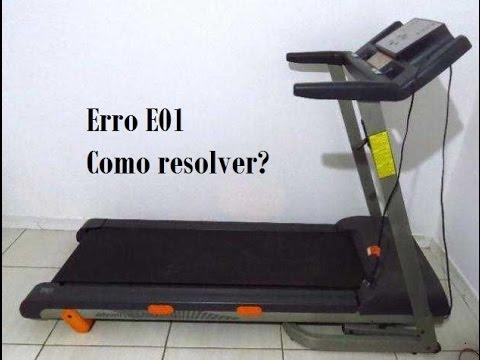 39261d4156 Erro 01 na esteira athletic advanced 520 ee - Como resolver - YouTube