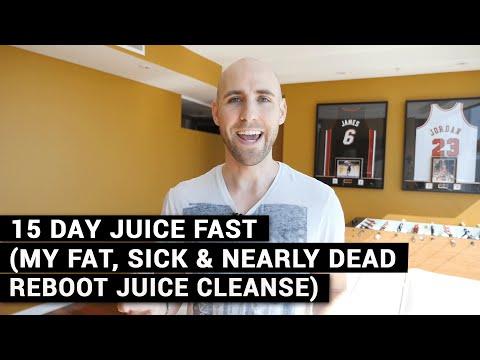15 Day Juice Fast (My Fat, Sick & Nearly Dead Reboot Juice Cleanse)