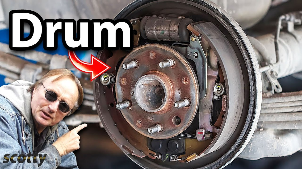 how to replace drum brakes  [ 1280 x 720 Pixel ]