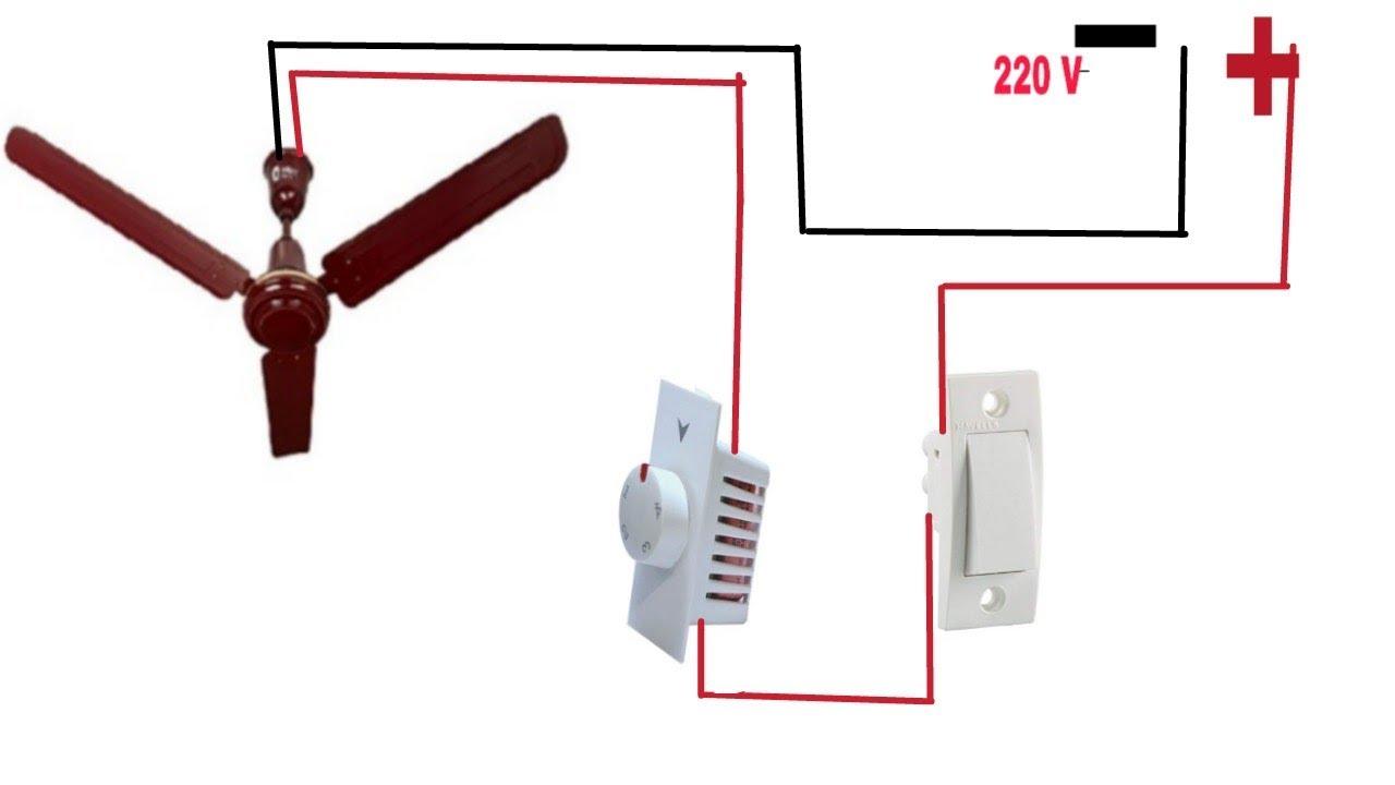 Ceiling Fan Regulator Connection Fan Regulator Wiring