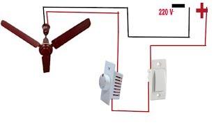 CEILING FAN REGULATOR CONNECTION / FAN REGULATOR WIRING