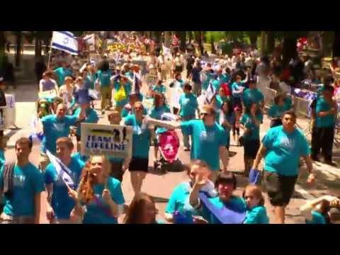 My9 News TV: Team Lifeline/Chai Lifeline Celebrate Israel Parade March & Roll