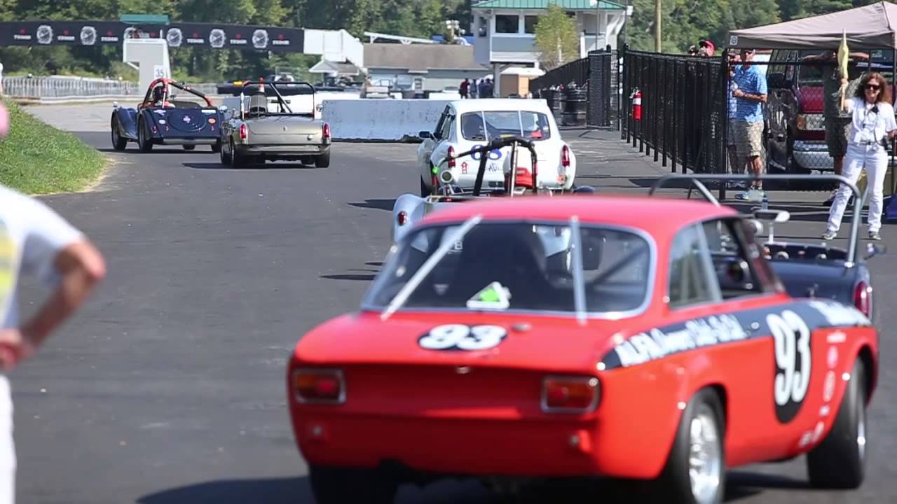 Lime Rock Historic 33 Vintage Auto Racing - YouTube