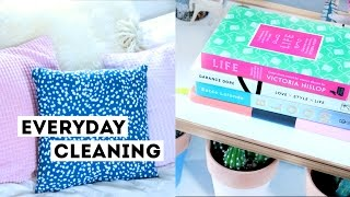 My Everyday Cleaning Routine | How I Tidy My Bedroom