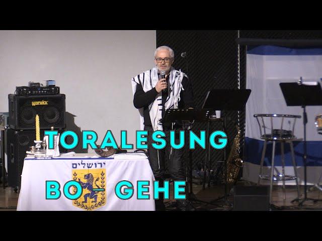Beit Hesed. Toralesung Bo - Gehe. 01.02.2020