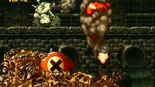 Metal Slug 2 - Boss Battles (Level-8 Difficulty/Very Hard Mode)