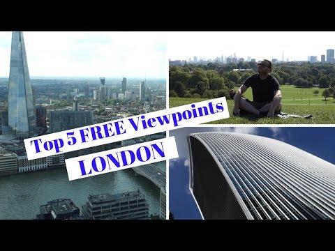 BEST FREE VIEWPOINTS IN LONDON