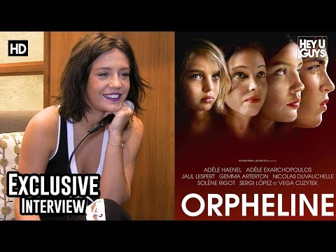 Adèle Exarchopoulos - Orphan Exclusive Interview