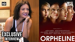 Adèle Exarchopoulos - Orphan Exclusive Interview streaming