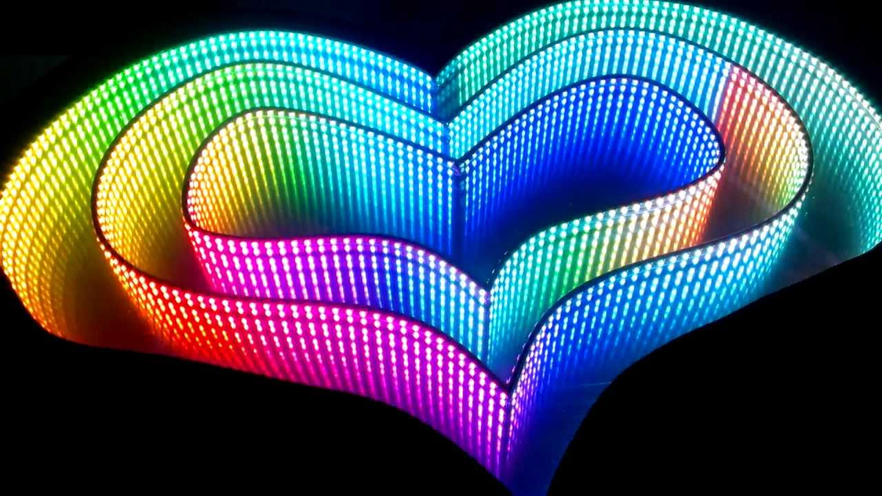 The Inifinite Art Beat Rgb Led Infinity Mirror By