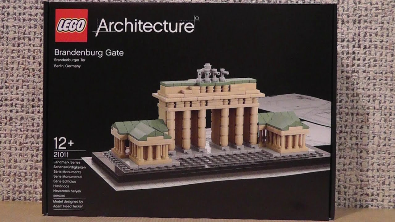lego architecture 21011 brama brandenburska youtube. Black Bedroom Furniture Sets. Home Design Ideas