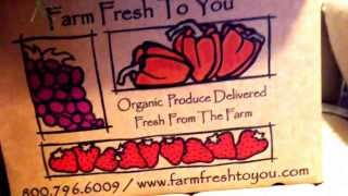 Produce home delivery review from FARM FRESH TO YOU