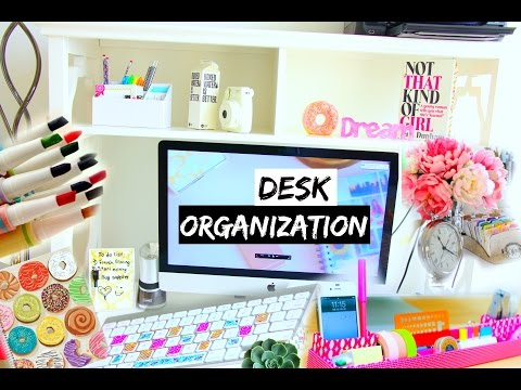 Diy Desk Organization Decoration Ideas