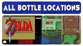 Zelda: A Link To The Past - All Bottle Locations (4)