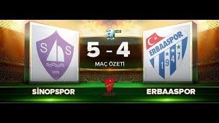 Sinopspor 5-4 Erbaaspor | Ziraat Türkiye Kupası 2.tur | Özet | 30.08.2017