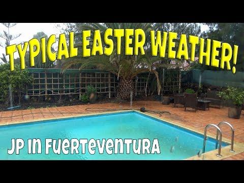 Typical Easter Weekend Weather | Weather In Fuerteventura
