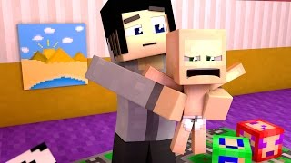 A FATHER TO 7 BABIES?! | Minecraft 7 Toddler Challenge