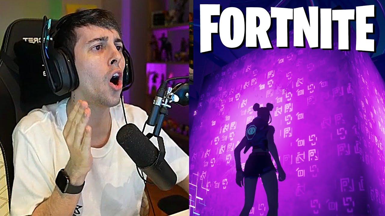 Robleis reacciona al evento final de FORTNITE