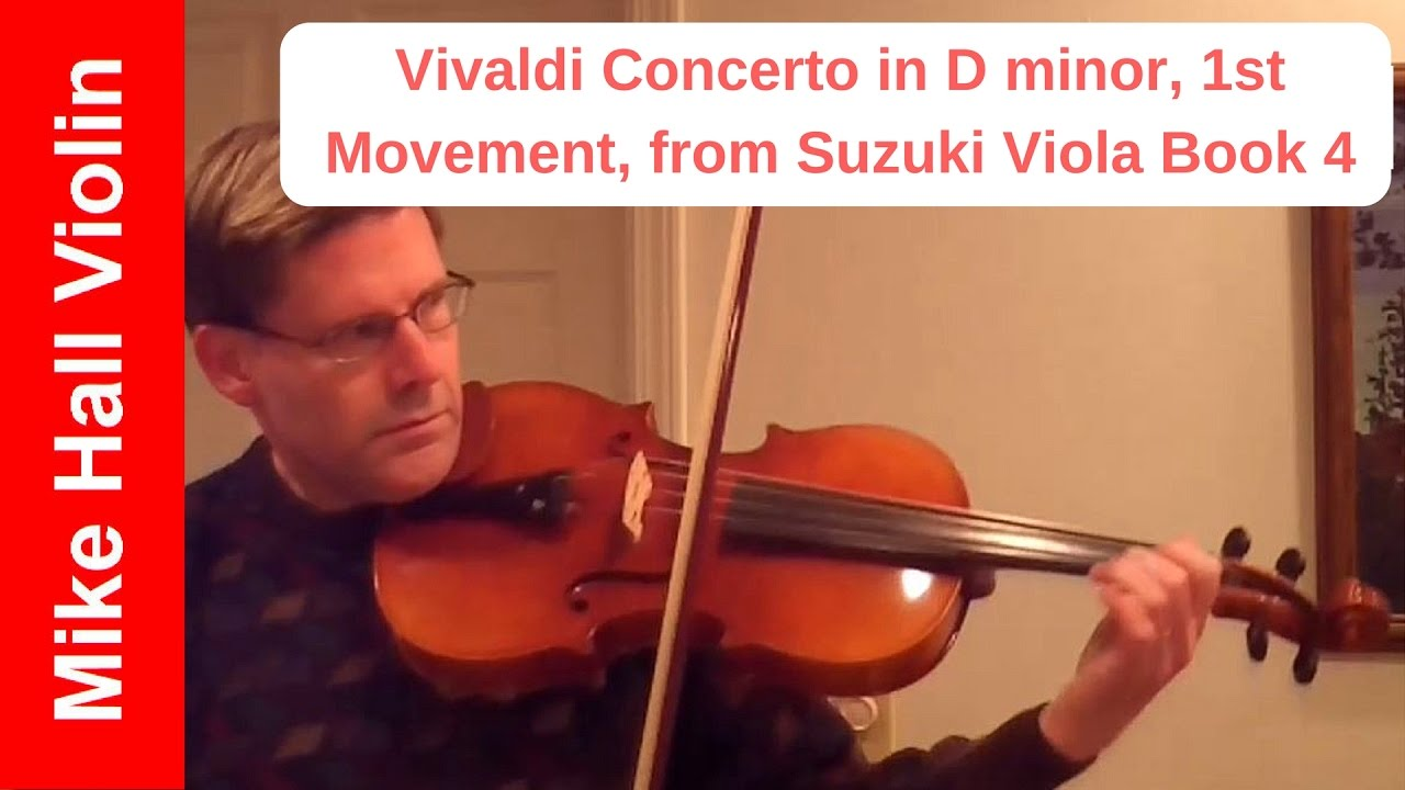 Sequence of Violin Repertoire